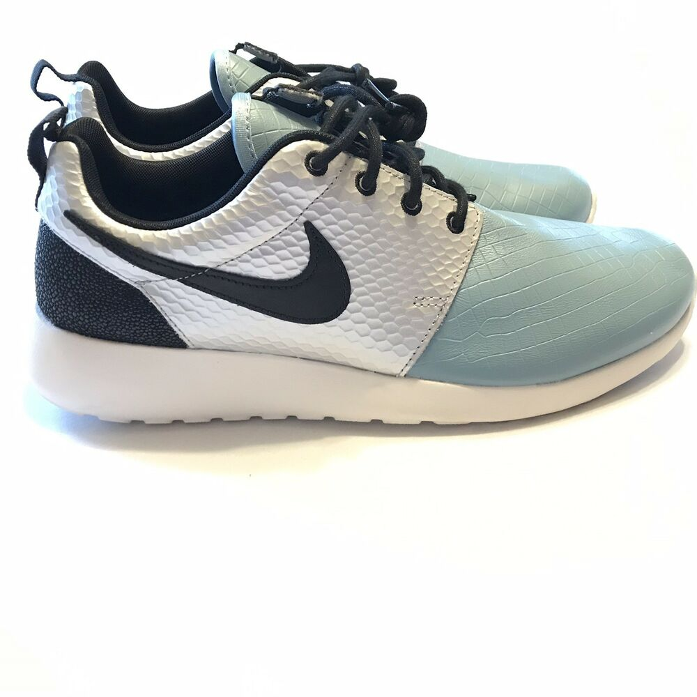 07b27d2c55d9 Details about Nike Roshe One LX Womens Running Shoe Silver Blue Black  881202-002