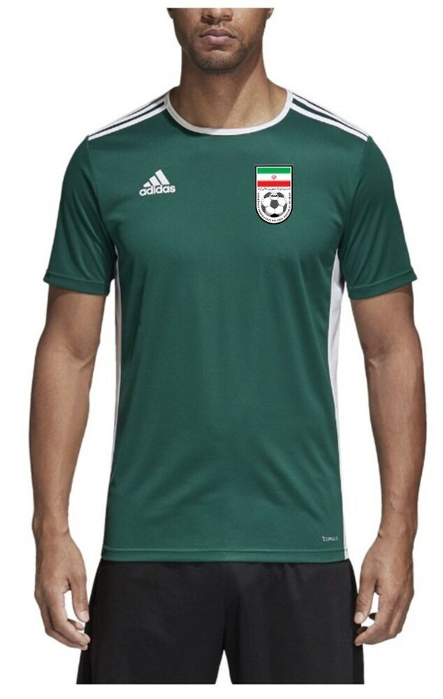 843f75229 Details about 2019 Iran-Team Melli Original Top Training Jersey - Green  White