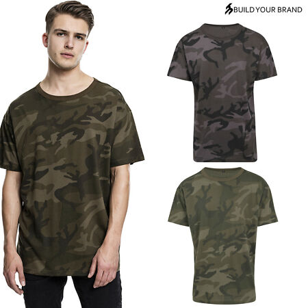 img-Build Your Brand Adults Camo Tee BY079 - Short Sleeve Crew Neck T-Shirt