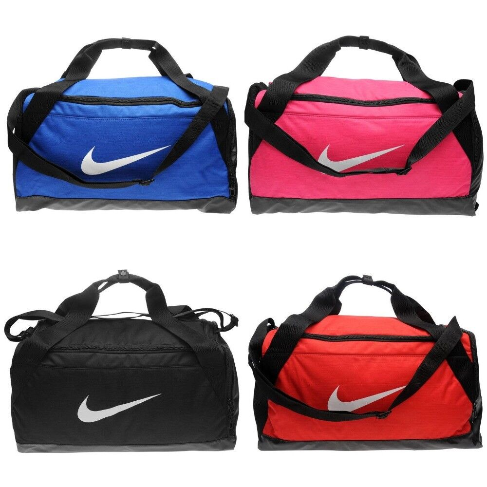 0d18e9c541f1 Details about NIKE SPORTS HOLDALL - BRASILIA DUFFEL BAG TRAINING GYM - PINK  BLACK ROYAL