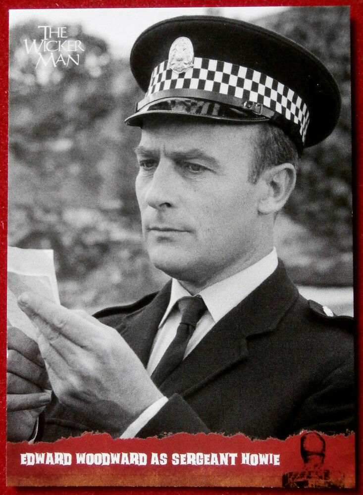 5b3faa2e256 Details about THE WICKER MAN Card   40 - EDWARD WOODWARD AS SERGEANT HOWIE  - Unstoppable Cards