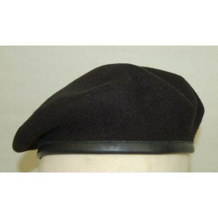 img-Brand New British Army RTR Royal Tank Regiment Beret - Silk Lined - In Black