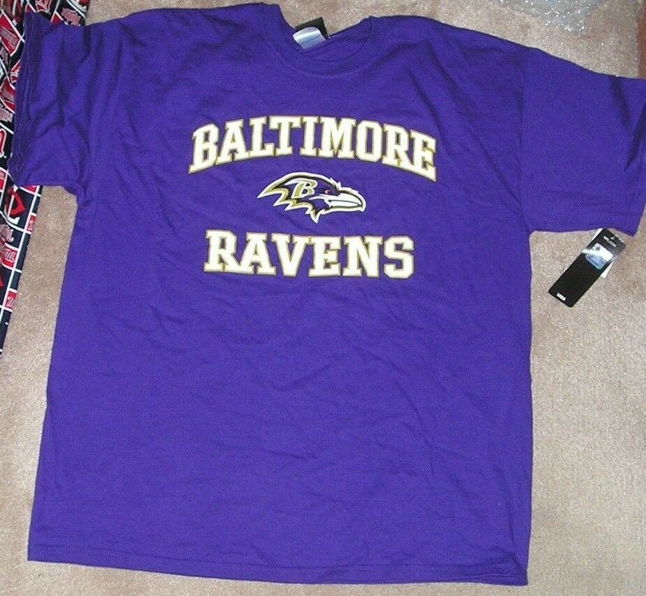 0a5a4dbed Details about NEW NFL Baltimore Ravens T Shirt Men XL X-Large NEW NWT