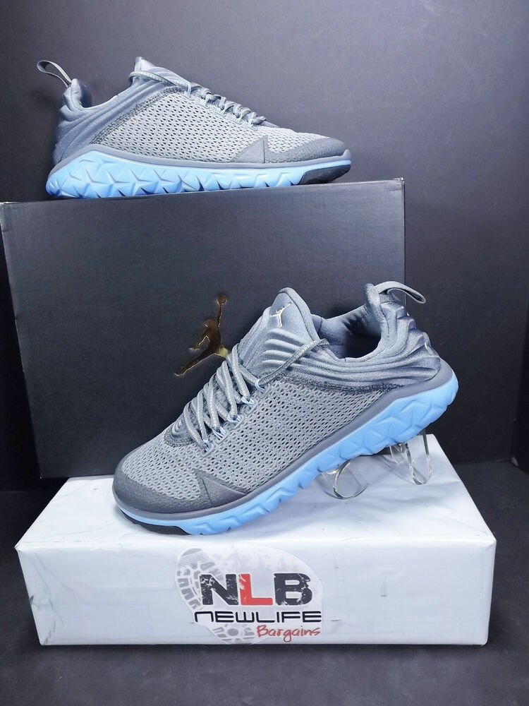 45436e223c08b Details about Nike Air Jordan Flight Flex Trainer 654268-006 Cool Grey White Blue  Men Size 7