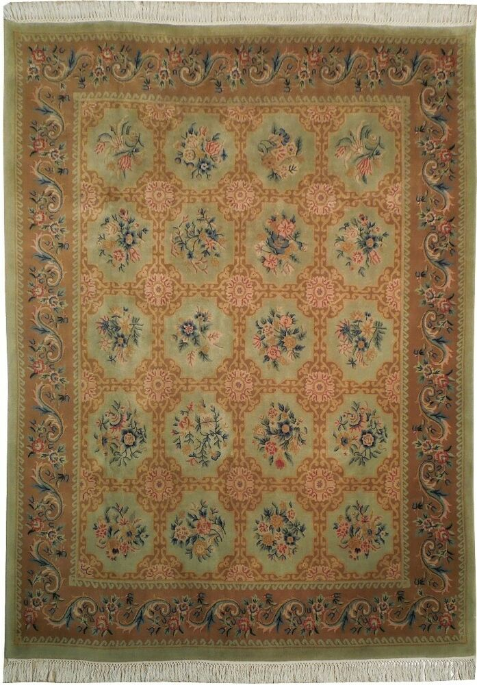 Brown Handmade 8 X 10 Jaipur 94 X 124 In French