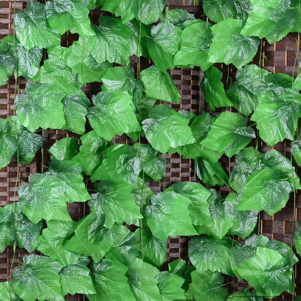 Details About Artificial Hanging Plants Silk Ivy Vine Indoor Outdoor Fake Decor Faux Plastic
