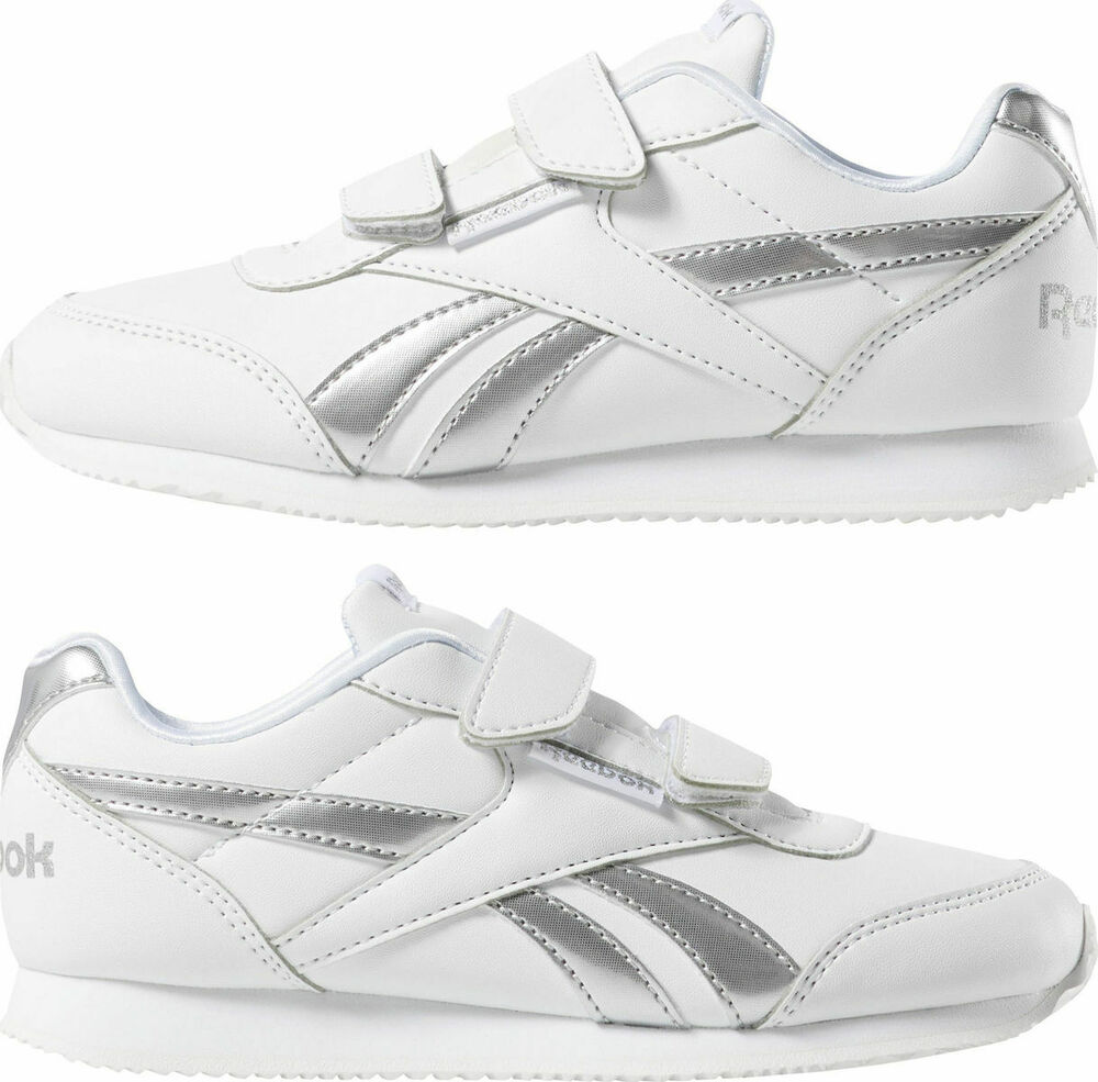 16a301d7f5f Details about Reebok Girls Shoes Classic Sneaker Jogger Kids Royal Jog 2  Silhouette DV4004