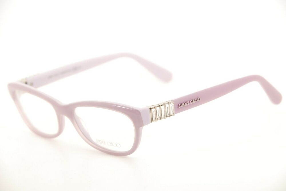 21fcde3cc1b Details about New Authentic Jimmy Choo JC 76 BT3 Light Purple 53mm  Eyeglasses Frames Italy RX