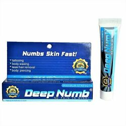 Kyпить 10gr DEEP NUMB Numbing Cream Painless Tattoo Body Piercings Waxing Laser Dr на еВаy.соm