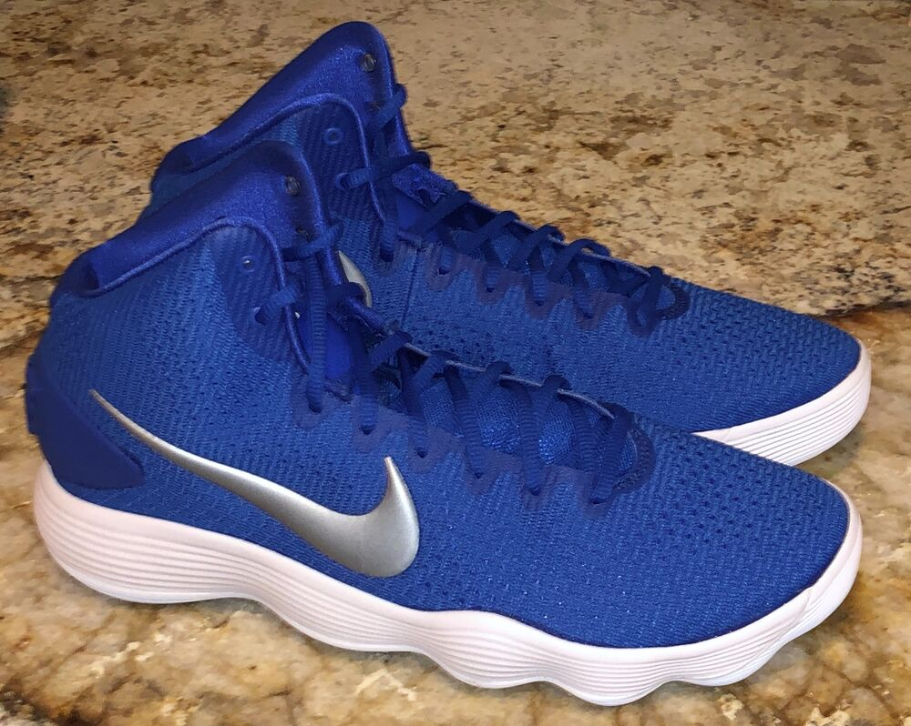 6f7a022f97b4 Details about NIKE Hyperdunk 2017 Royal Blue Silver Basketball Shoes  Sneakers NEW Mens Sz 12.5