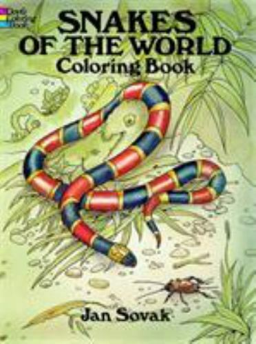 Snakes of the World Coloring Book: By Sovak, Jan