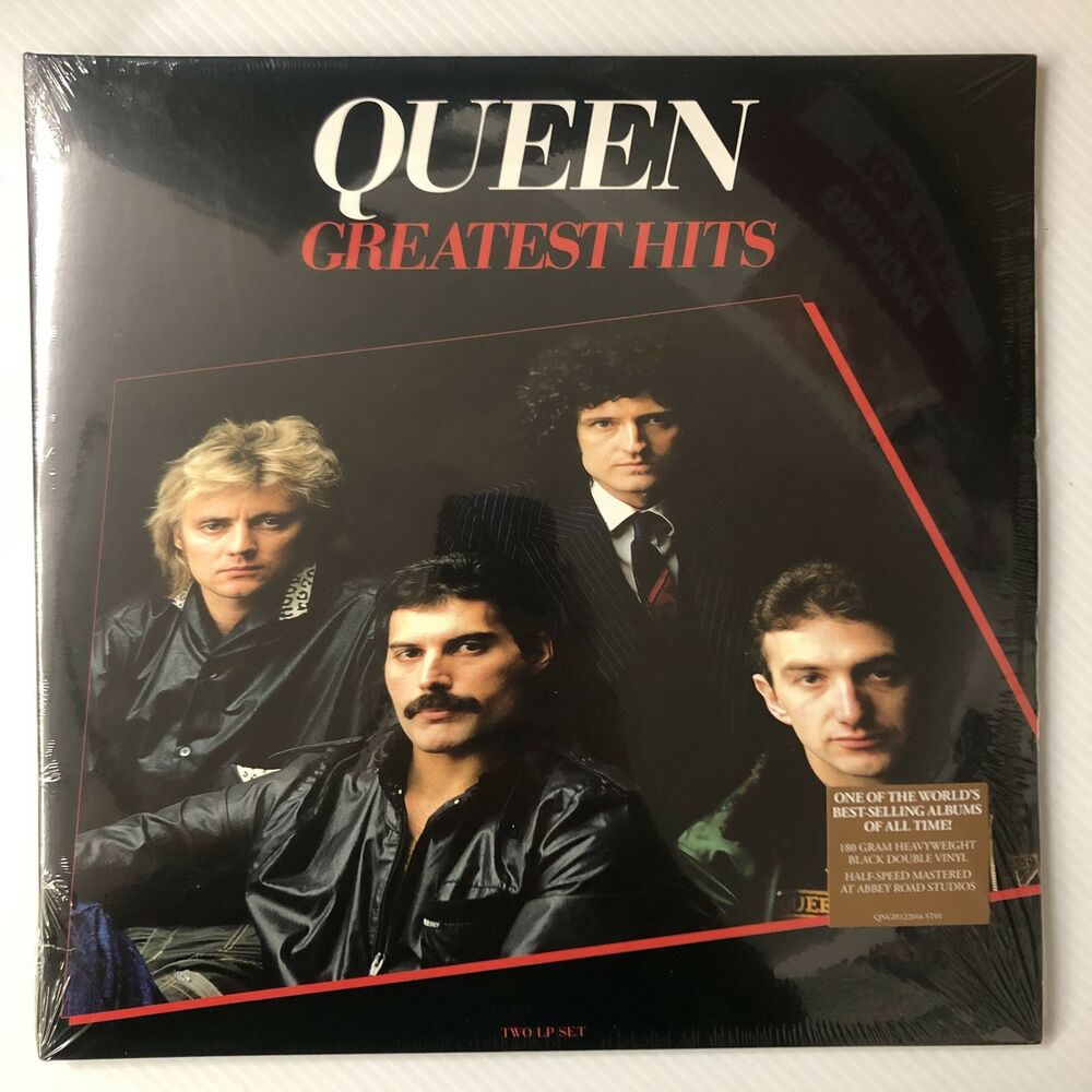 d4bd2abc7 Details about QUEEN Greatest Hits 2LP 12