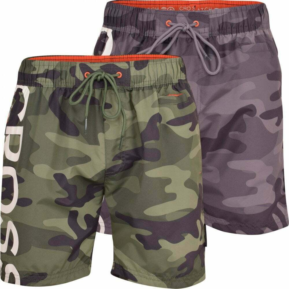 535ceb6531cc9 Details about Mens Crosshatch Army Camo Swimming Shorts Trunks Beach Casual  Mesh Lined