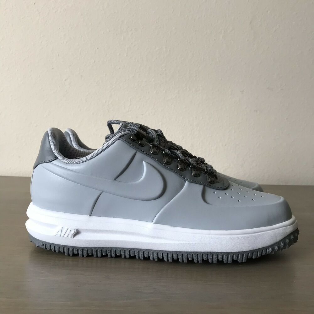 cheap for discount 1de9b 98f44 Details about Nike LF1 Lunar Force 1 Duckboot Low Wolf Grey White  AA1125-002 Men's Size 8