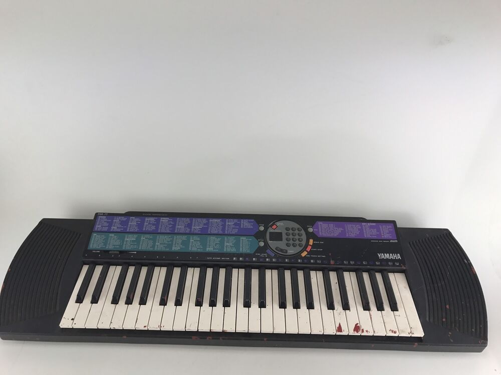 5de7de9883e Details about Yamaha PSR-77 49-Key Portable Piano Keyboard Portatone Fast  Shipping