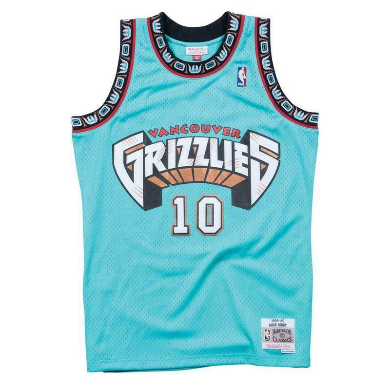 87823677b0f3 BIBBY  3 VANCOUVER GRIZZLIES Mitchell   Ness NBA Mesh Swingman Jersey -Teal
