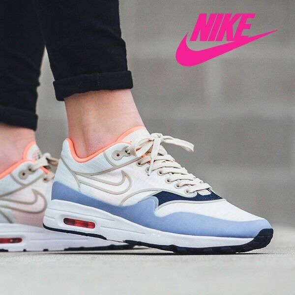 size 40 ae474 c1020 Details about Women s Nike Air Max 1 Ultra 2.0 SI Sail Light Purple Blue  Pink 881103-102 Sz 7