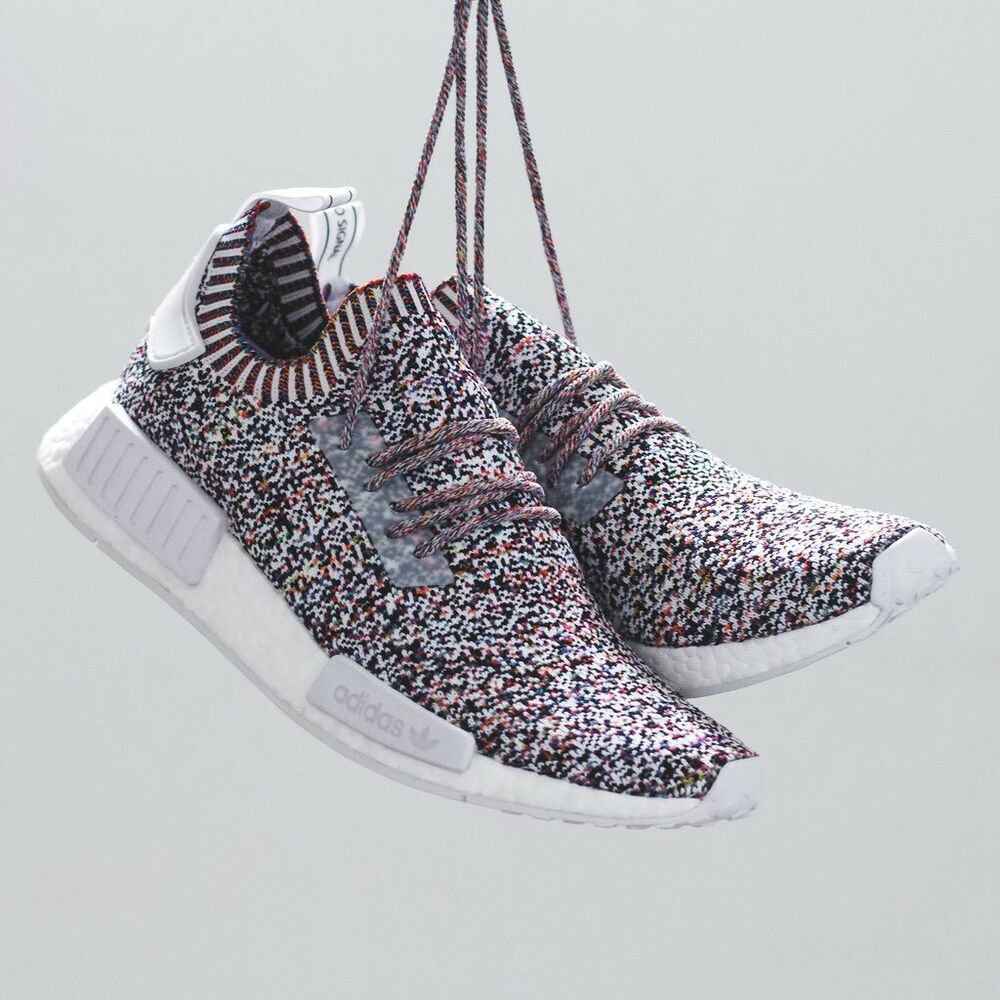 f69be2c7d8b8f Adidas NMD R1 PK COLOR STATIC Multi-Color 9 Primeknit Boost Yeezy .