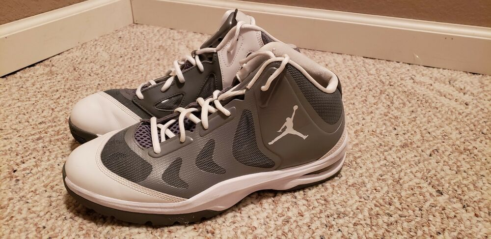 quality design ba8c3 7b0cd Details about NIKE AIR JORDAN PLAY IN THESE II 2 GREY GRAY   WHITE  510581- 002 Size 11.5