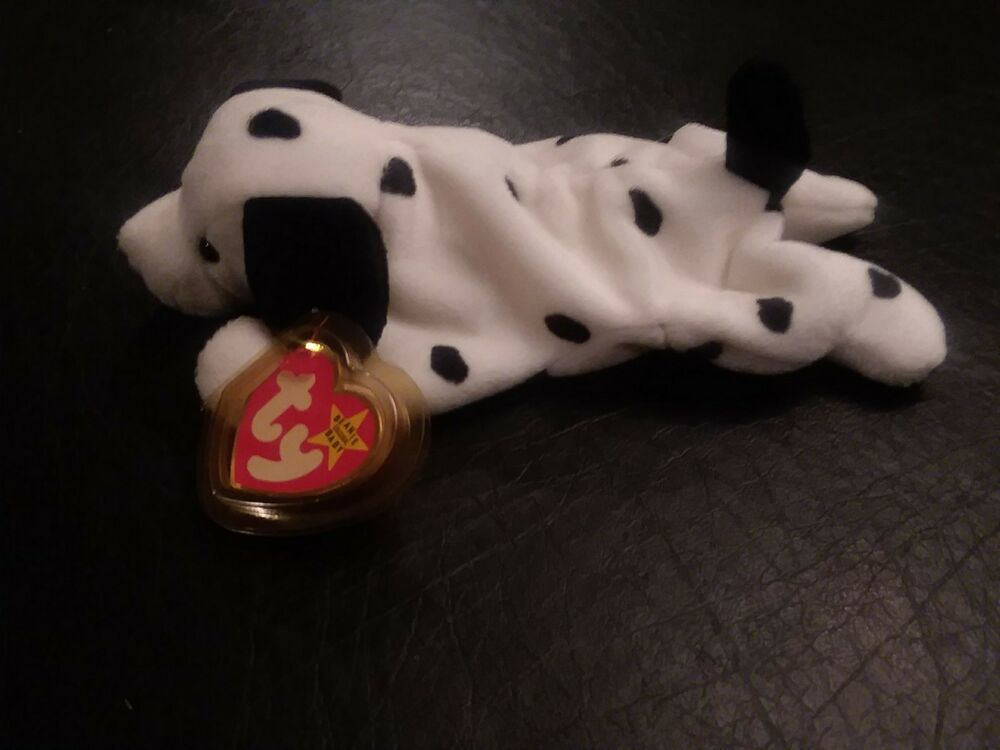d69caa41ad7 Details about EXTREMELY RARE! Retired Ty Beanie Baby Dotty w  Errors  FACTORY MADE W O TUSH TAG