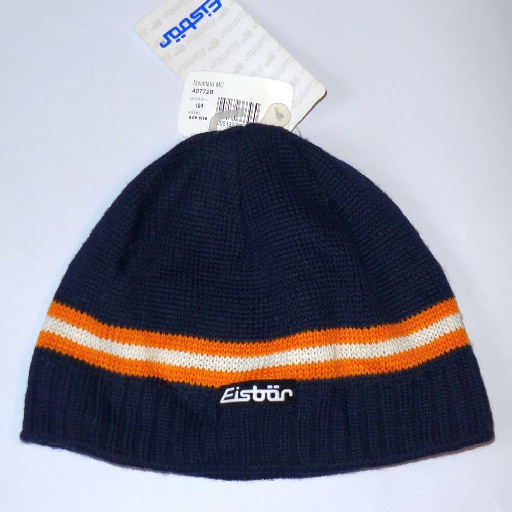 ccf18c218937a Details about Eisbär of Austria Mountain MU Merino Wool Beanie Small-sized  Hat