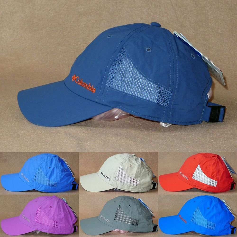 7de73ac022a83 Details about Columbia Tech Omni-Shade UPF50 Omni-Wick Baseball Cap -  Hiking Travel Hat - NWT!