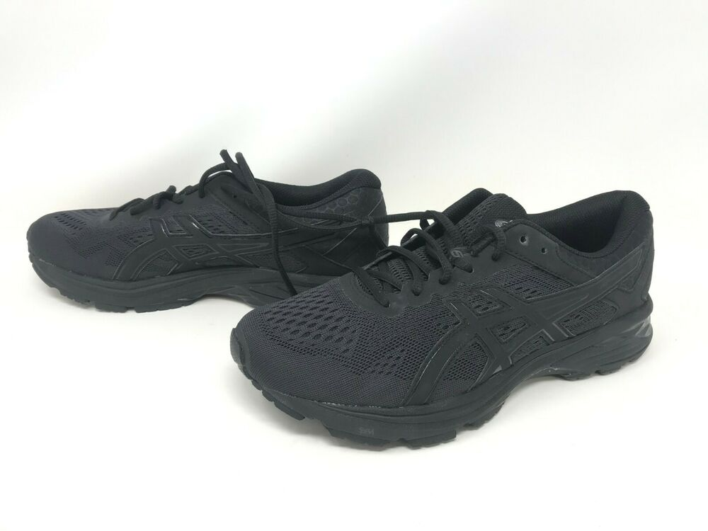 b9eca4269f596 Details about Mens Asics (T7B1N) GT-1000 6 Extra Wide Black Running Shoes  Size 8.5 (29R)