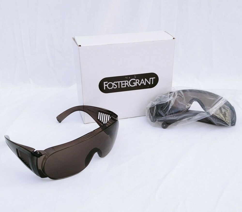 b5ccb25462 Details about Foster Grant Sunglasses Cruiser Safety Dark Smoke Lens AS0302  Lot Of 2