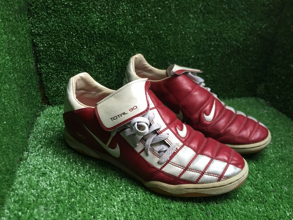 more photos 299a9 83cbb Details about NIKE AIR MAX TOTAL 365 III T90 RED INDOOR TRAINERS SOCCER  SHOES 7 8 41