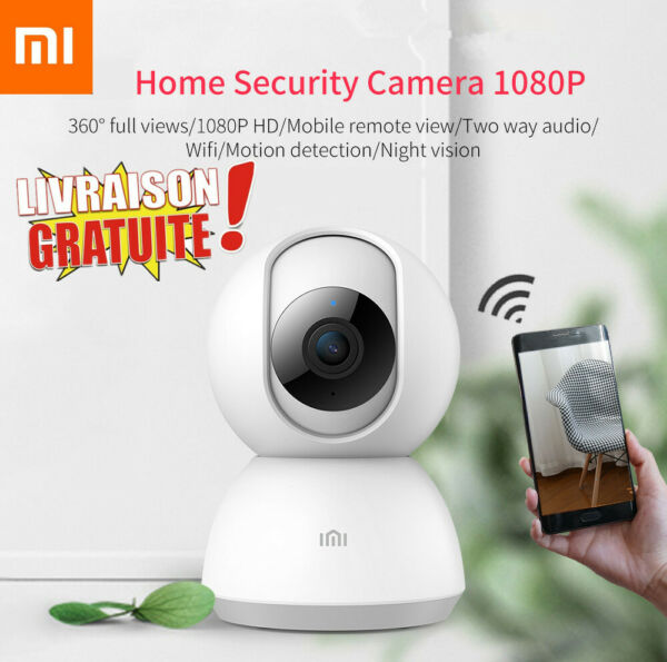 XiaoMi XiaoFang 1080P Portable WIFI Smart IP Camera Night Vision