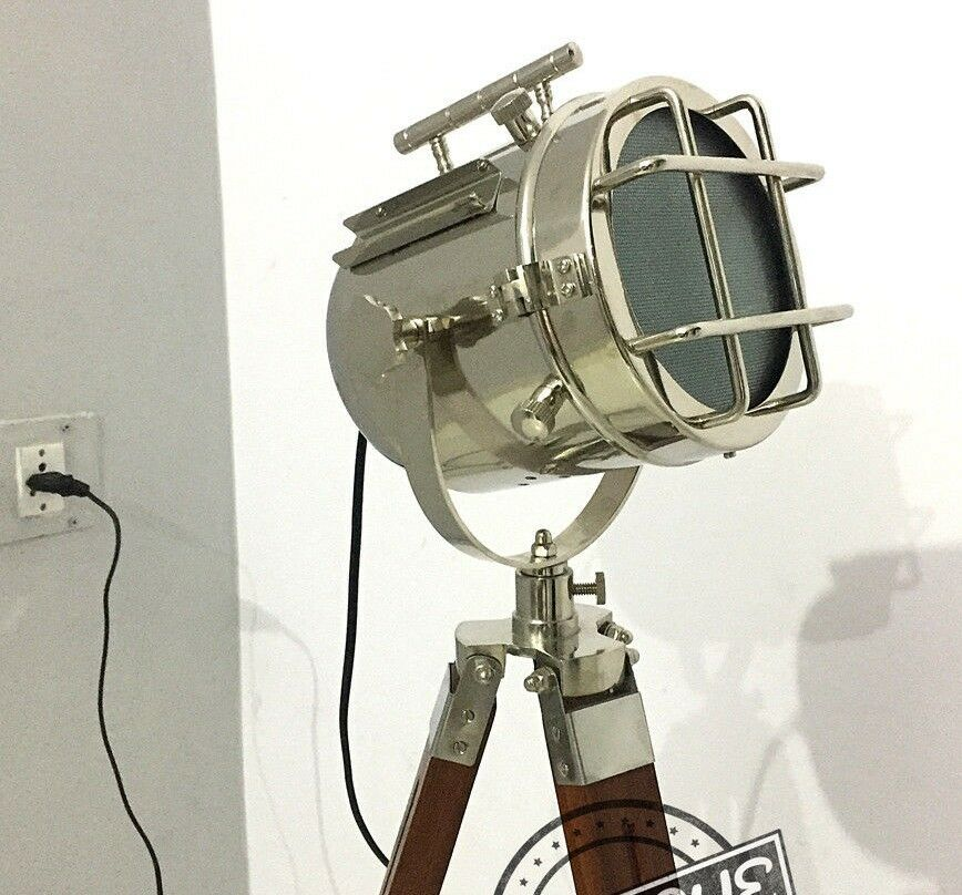Peachy Vintage Floor Stand Lamps Searchlight Room Decorative Cafe Showroom Wiring 101 Tzicihahutechinfo