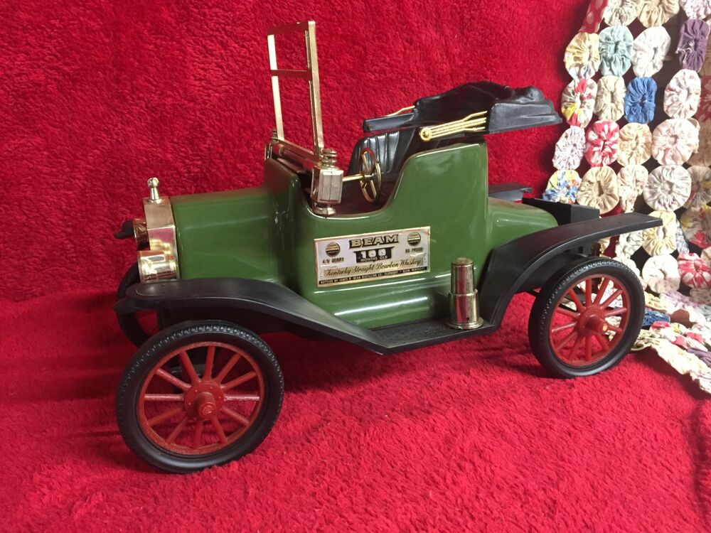 Vintage Model T Ford Car Jim Beam 100 Month Old Whiskey