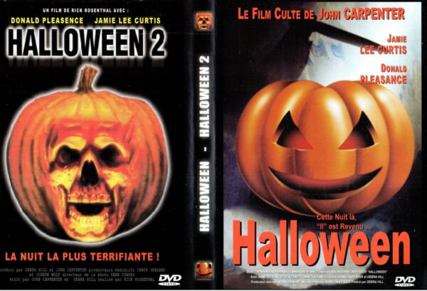 DVD Halloween - Halloween 2 | Jamie Lee Curtis | Horreur | Lemaus
