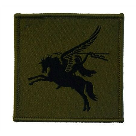 img-Army 16 Air Assault Brigade Pegasus Olive - Tactical Recognition Flash - TRF