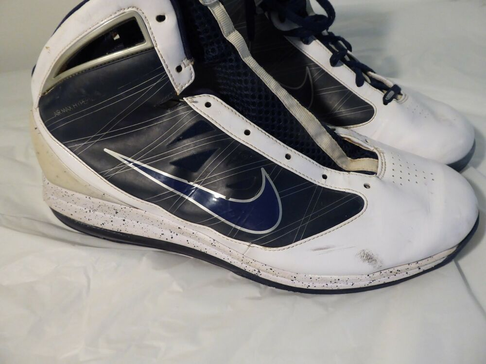 newest 390cc 46ad6 Details about Nike Air Max 360 Hyperize 395721-100 Blue White Shoes Size 15  Sneakers