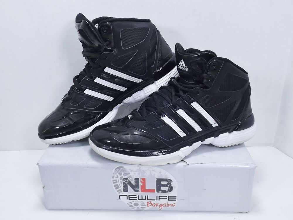 bdb644a41a7 Details about Adidas Stupidly Light Basketball Shoes Men s Size 7.5 Black  White