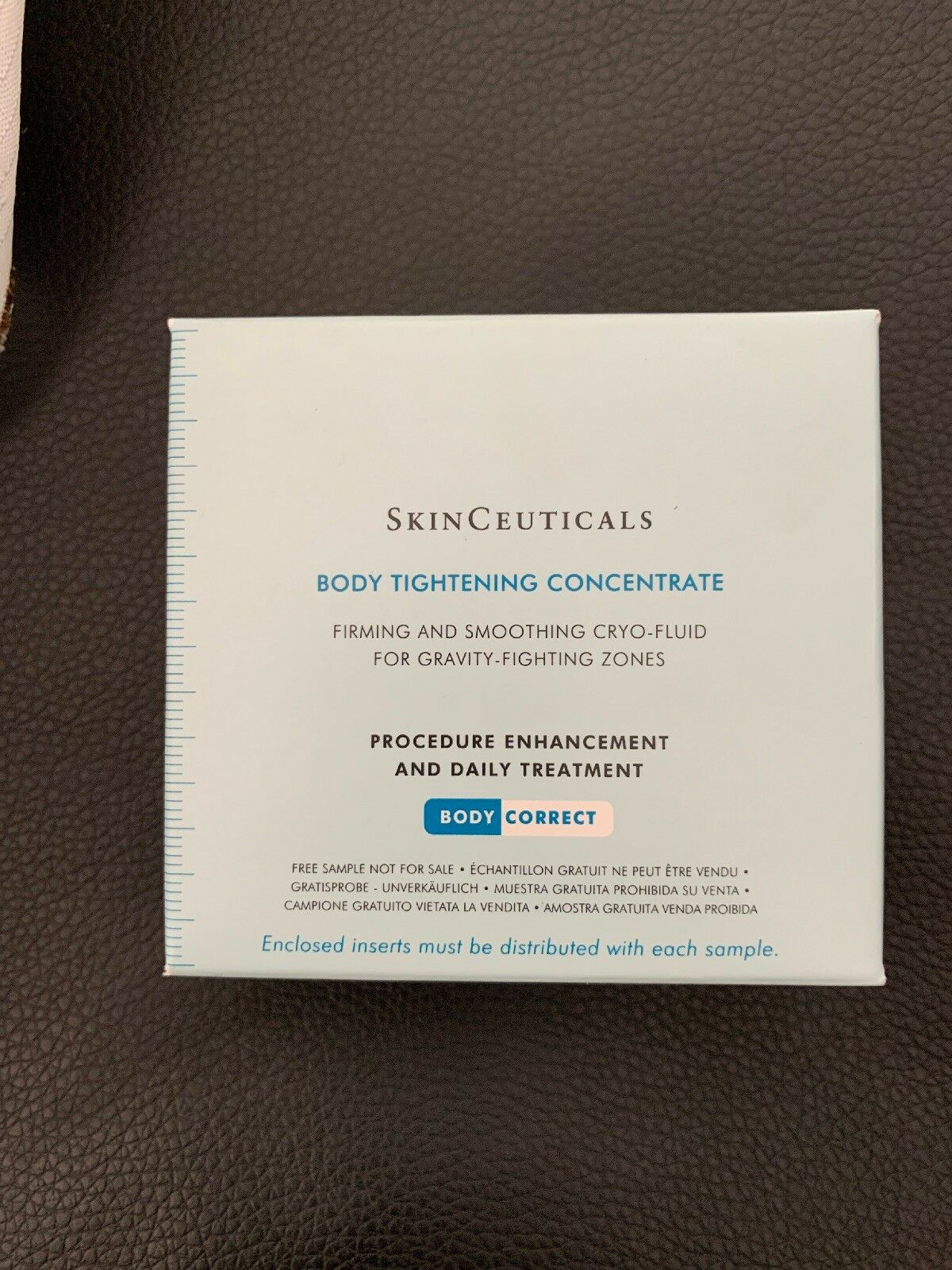 6 Samples Skinceuticals Body Tightening Concentrate Free Shipping