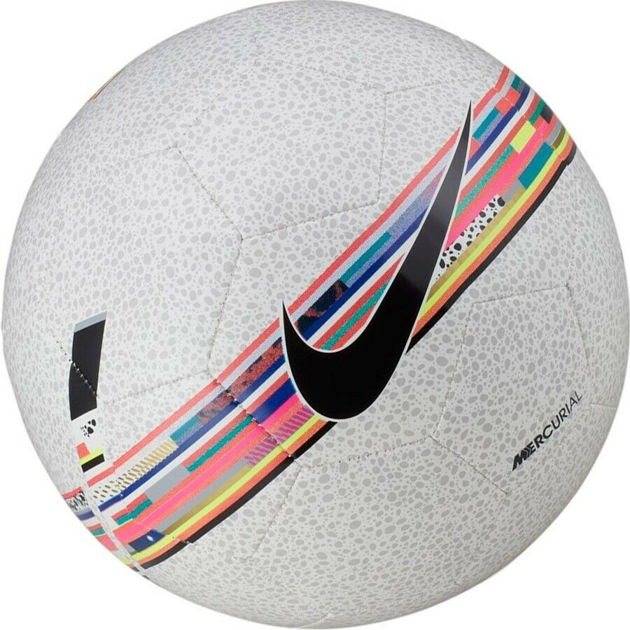 2a026ceb95d7 Details about Soccer Ball Nike CR7 Mercurial Size 5 white Cristiano Ronaldo  Football Fussball