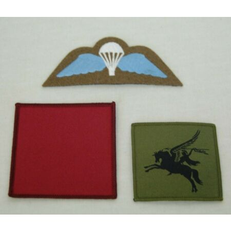 img-British Army Parachute Reg 1 PARA Insignia Set - Tactical Recognition Flash