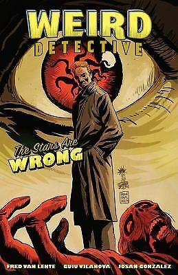 Weird Detective The Stars Are Wrong Dark Horse Comics Graphic Novel Lente
