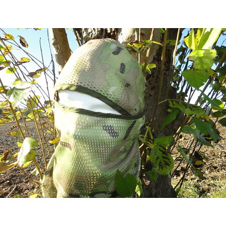 img-MILITARY SCRIM NET TACTICAL SCARF WOODLAND LIGHT CAMOUFLAGE 156 cm x 80 cm
