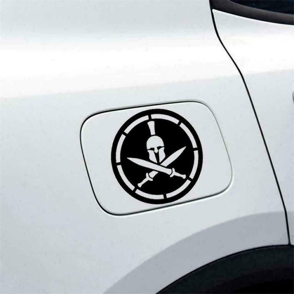 Details about spartan helmet patch art car window bumper vinyl decal jdm sticker 11 5cmx11 5cm
