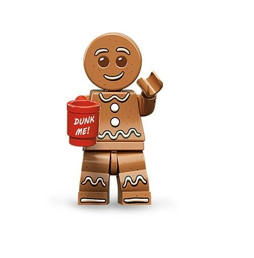 NEW LEGO Gingerbread Man Series 11 FROM SET 71002 COLLECTIBLES (col11-6)