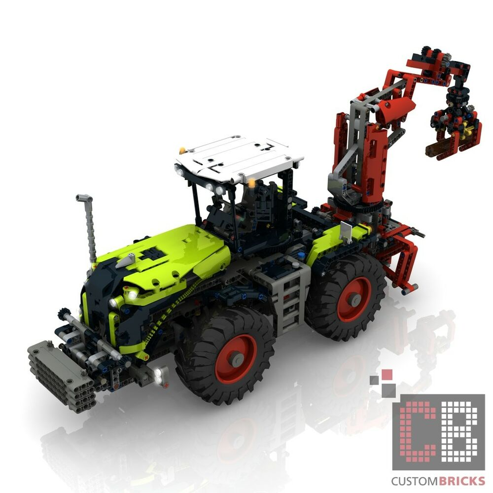 Cb Self Made Building Instruction Claas Full Rc Umbauanleitung Lego