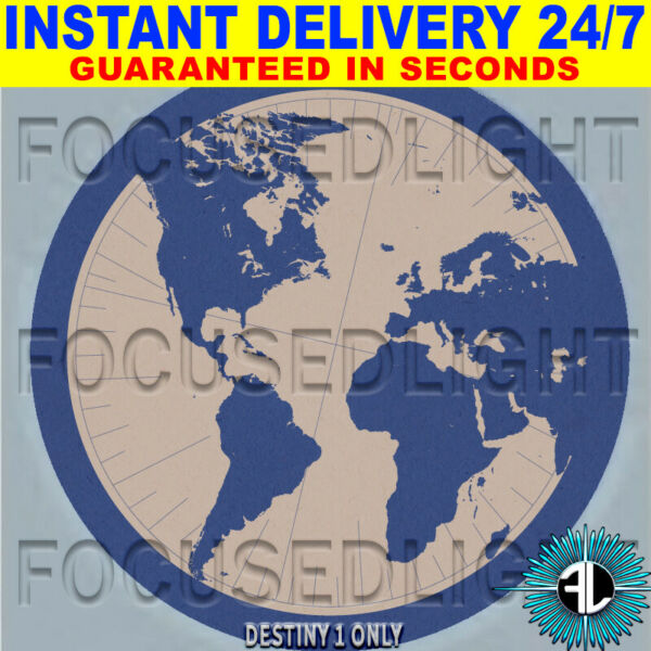 Royaume-UniDESTINY 1 Emblem EARTHBORN + 10 FREE XP BOOST ~ INSTANT DELIVERY  24/7