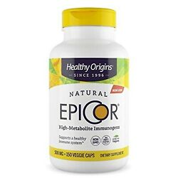 Healthy Origins EpiCor (Clinically Proven Immune Support) 500 mg, 150 Veggie ...