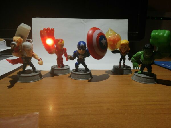 Lotto 5 MARVEL Flash Heroes AVENGERS