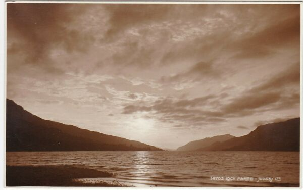 Atmospheric Scene, LOCH MAREE, Ross-shire RP