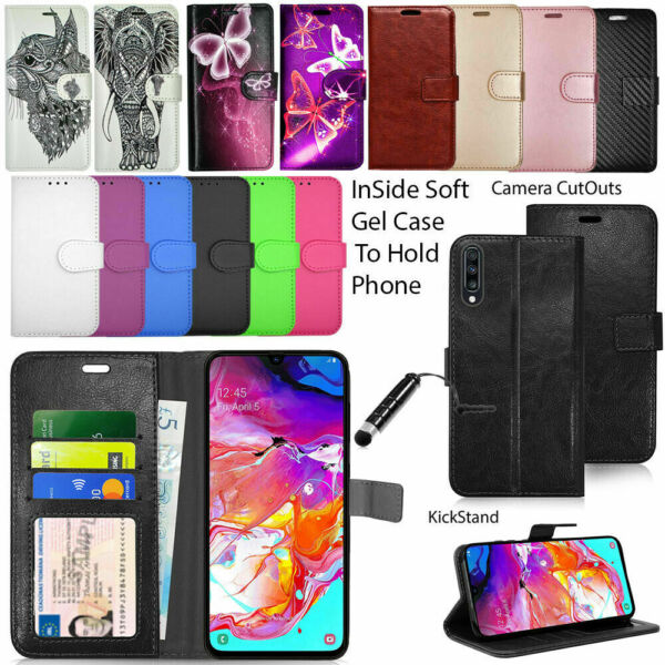 For Samsung Galaxy A20e A70 A60 A40 A10 A50 A2 Phone Case Wallet Leather Cover