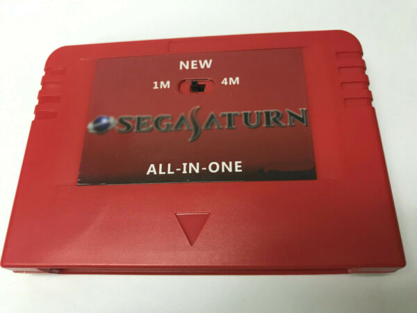 SEGA Pseudo Saturn 1M 4M Expansion RAM save Card action replay V6.314 FAST SHIP